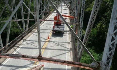 Bridge Inspection - SR 57 over White River