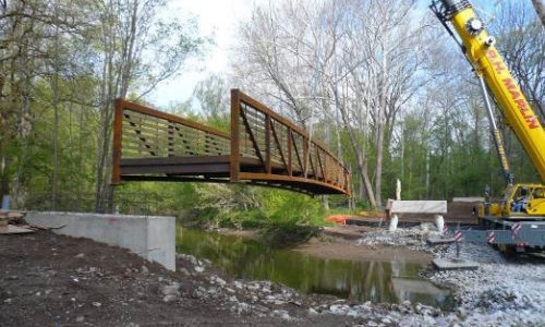 Construction Inspection - Turkey Foot Pedestrian Bridge