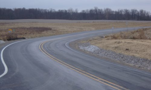 Road Design - SR 327 Curve Correction